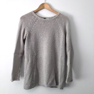 H&M XS Soft Fuzzy Gray Sweater